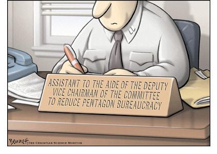 Pentagon Bureaucracy