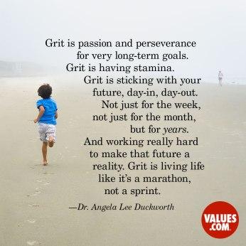 Grit is a Marathon