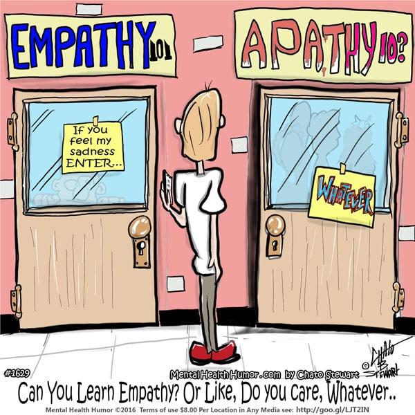 Empathy v Apathy