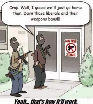 Guns and Liberals - A Pipe Dream