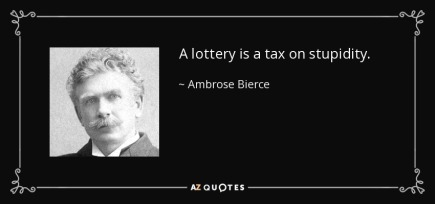 Lottery Tax Quote