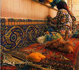 Persian Rug Knotting
