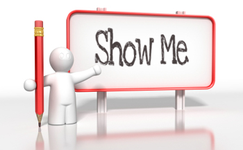 """Soulful Musings: Don't Tell Me, """"Show Me"""""""
